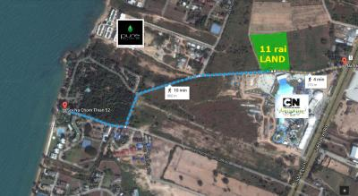 11 Rai of Land For Sale in Na Jomtien View1