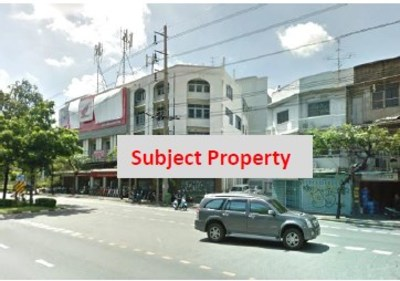 6-Storey Office Building on Rama IV Road (near Theptharin Hospital) View1