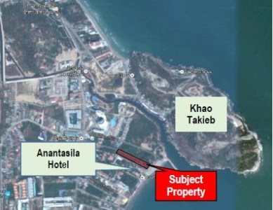 Beachfront Land 5 Rai near Takieb Mount View1