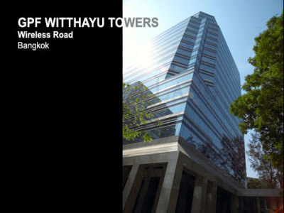 GPF Witthayu Towers - Office For Lease View1