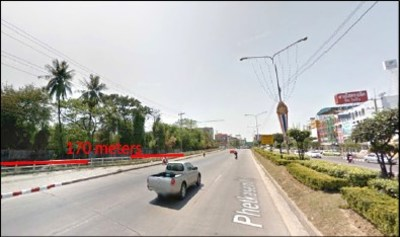 Land 25-1-42 Rai on Phetkasem Soi 85 Road View1