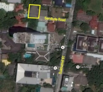 Land 97 sq.wha with house in Sukhumvit 61 View1