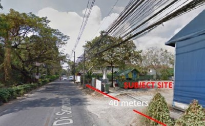 Land For Sale 2 Rai 60 square wah in Ladprao 107 Alley View1
