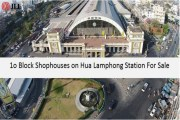 10 Block Shophouse on Main Road Hua Lamphong