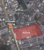 22-0-13 rai of Vacant Land near BTS Erawan Station Sukhumvit Road