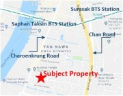 8 Storey Apartment nearby Charoenkrung-Sathorn Road