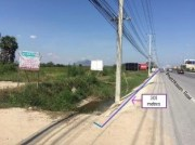 Land 36-1-79 Rai in Cha-Am (Opp. Baan Thew Talay Condominium)