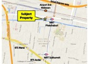 LAND FOR RENT / LEASE Phetchburi Road