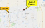 Land for sale 3.5 Rai of land on Rangsit-Nakornnayok Road