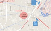 Land on Pracha Rat road with 475 sqw