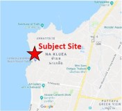 North Pattaya Beachfront Land with 70 m. Frontage