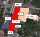 Vacant Land 150m from Royal Thai Navy BTS Station