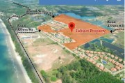 Vacant land for development at Mae Phim Beach Rayong, Thailand
