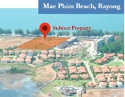 Vacant Land on Mae Phim Beach Road Rayong, Thailand